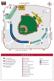 Arizona Stadium Map by Busch Stadium Level By Level Maps St Louis Cardinals