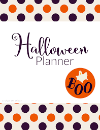 Printable Halloween Candy Coupons by Printable Halloween Planner U0026 Coupon Book