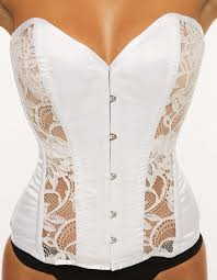 wedding corset paradise overbust wedding corset by vollers
