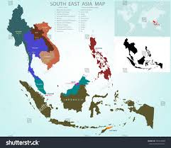 Map Of Asia With Capitals by Map Of Asia And Its Countries And Capital You Can See A Map Of