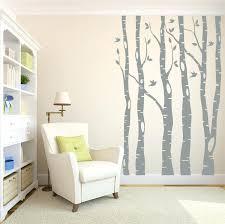 birch tree decor large wall decals tree tree wall decals birch tree decals living