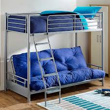 Futon Bunk Bed With Mattress Included Futon Bunk Bed With Mattress Included Blue New Futon Bunk Bed