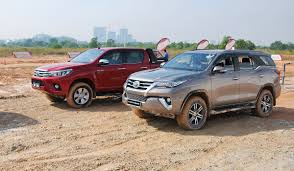 new toyota hilux and fortuner launched in malaysia autoworld com my