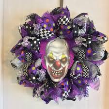 16 spooky handmade halloween wreath ideas for your door pinkous