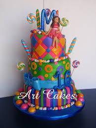 candyland birthday cake candyland sweet sixteen birthday cake cakecentral