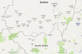 africa map khartoum khartoum and juba resume border talks the east