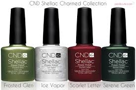 tutorials cnd shellac holiday nails