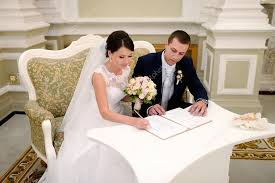 registering for wedding and groom registering marriage stock photo pvstory