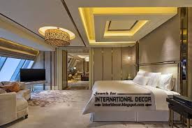 Modern Pop False Ceiling Designs For Luxury Bedroom  Bedroom - Bedroom ceiling design