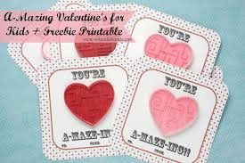 valentines for kids a mazing s cards for kids freebie printable