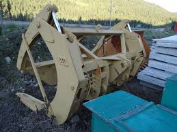 continental equipment 966d e f wheel loader log grapple for sale