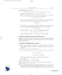 part 5 characteristic equations advanced engineering mathematics