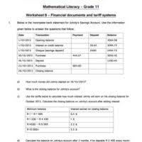 maths literacy archives e classroom