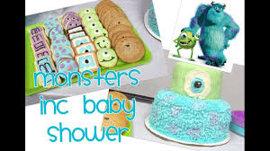 inc baby shower vlog monsters inc baby shower