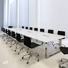 modern office conference table glass conference table for modern office furniture theydesign image