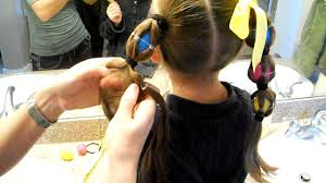 egg tails ponytails easter crazy hair day cute girls