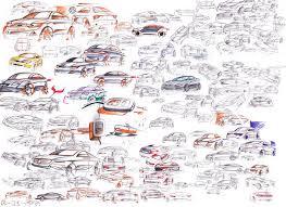 auto design studium sind die zeichnungen für den anfang als auto designer gut