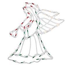 lighted angel christmas decoration amazon com northlight 18 lighted angel christmas window silhouette