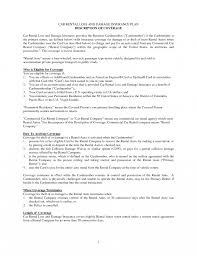 exle cv resume business plan car hire rental damage letter sle 543367 pdf free