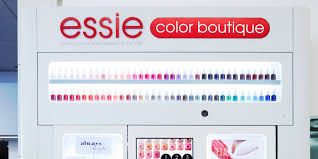 essie introduces nail polish vending machines so we now have no
