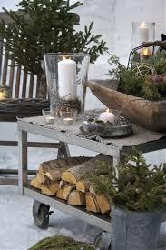 Rustic Garden Decor Ideas 40 Comfy Rustic Outdoor Christmas Décor Ideas Digsdigs
