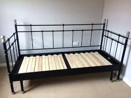 Ikea Metal Daybed Magnificent Metal Daybed Frame Ikea Single Black Of Ataa Dammam