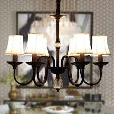 retro chandeliers hghomeart retro iron chandelier led luster suspension classic