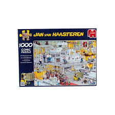 amazon com jumbo jan van haasteren the chocolate factory jigsaw