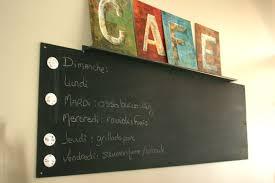 tableau magn騁ique cuisine tableau ardoise pour cuisine pur mur tableau noir cuisine id es de