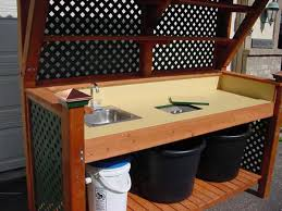 potting bench woodworking blog videos plans how to