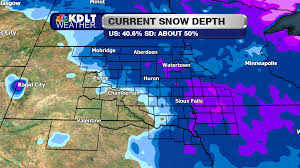 Snow Depth Map Record Warmth Likely To End This Week Kdlt