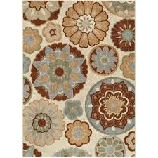 Orange Area Rug With White Swirls Better Homes And Gardens Swirls Soft Shag Area Rug Or Runner