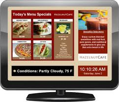 cuisine tv menut digital menu boards electronic menus and software