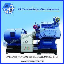 dalian pistion compressor de amônia para fábrica de gelo peças de
