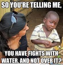 Fight Meme - water fight by outlaw meme center