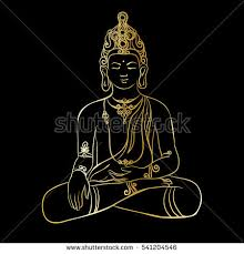 black buddha drawing stock images royalty free images u0026 vectors