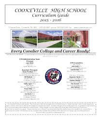 curriculum guide 15 16 editted 3 by cookeville high issuu