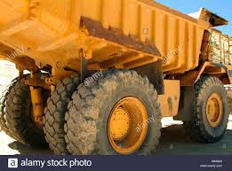 volvo dump truck super duty volvo dump truck western wyoming stock photo royalty