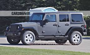 jeep wrangler pics 2017 jeep wrangler spied we look underneath car and driver