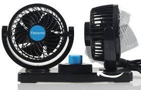 plug in car fan 10 best 12v car fans for dashboard or windscreen fixing