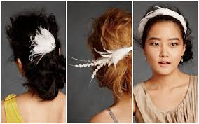 feather hair accessories feather hair fascinators accessories suggestions weddingbee