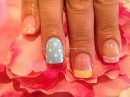 neon polka dot french nail art tutorial 10 pretty polka dot manicures you put it on