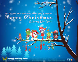 wishing everyone a merry and a joyful new year