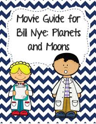 video worksheet movie guide for bill nye planets and moons