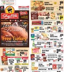 shoprite weekly flyer 11 16 11 22 2014 thanksgiving dinner