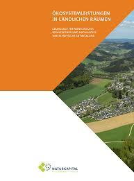 Plana K Hen ökosystemleistungen Und Die Entwicklung Ländlicher Räume Wie Eine