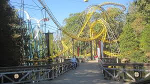 Busch Gardens Williamsburg New Ride by Loch Ness Monster U2014 Ups Downs And Upside Down Roller Coasters