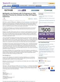 gift register news and press releases myregistry