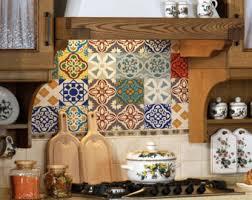 kitchen backsplash tile stickers tile decals set of 15 tile stickers for kitchen backsplash