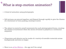 a complete guide for stop motion animation in the art room the